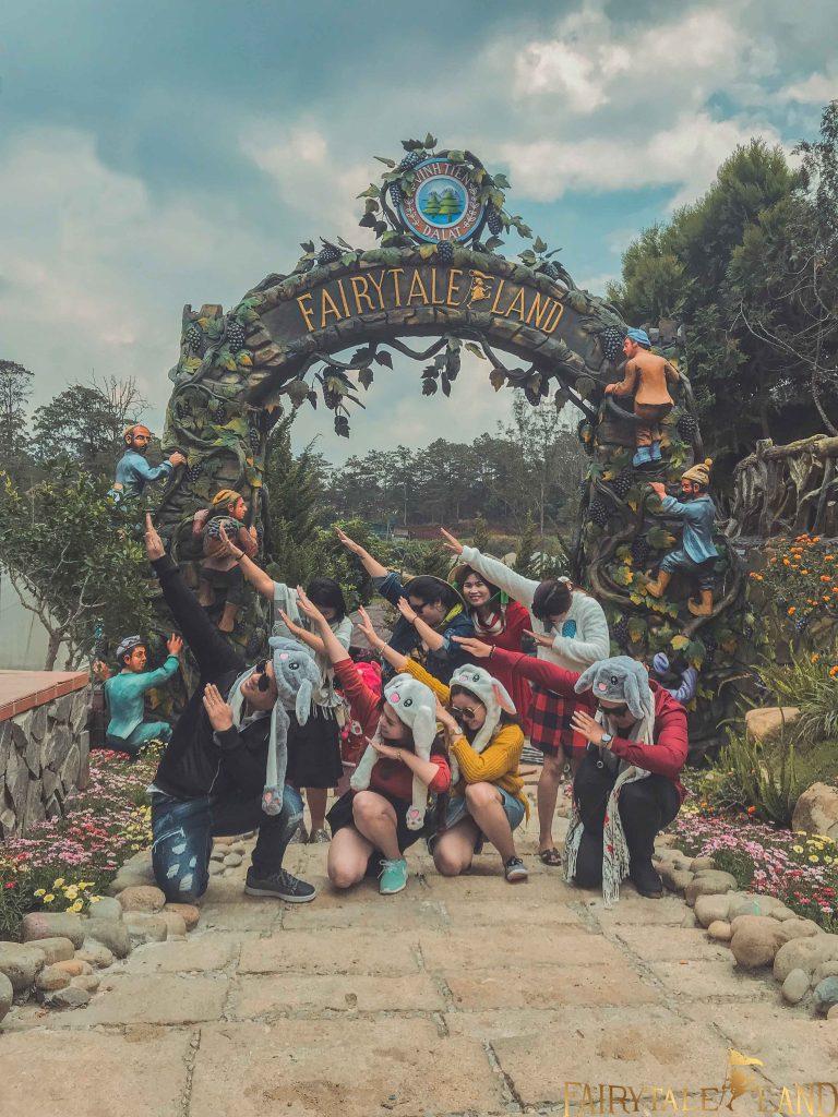 Trang chủ - DaLat Fairytale Land vùng đất nhiệm màu